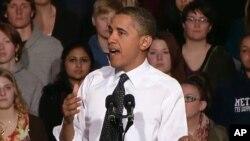 Predsjednik Barack Obama govori na Sveučilištu Colorado