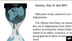 Le site WikiLeaks.