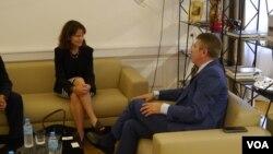 Заместитель госсекретаря США по энергетической дипломатии бюро Госдепартамента по энергетическим ресурсам Робин Даниган