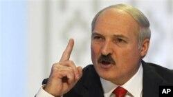 Presiden Belarus, Alexander Lukashenko menyebut kelompok oposisi sebagai pengecut (foto: dok).