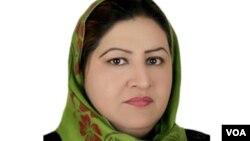 آمنه مستقیم، رئیس ائتلاف زنان افغان علیه فساد اداری