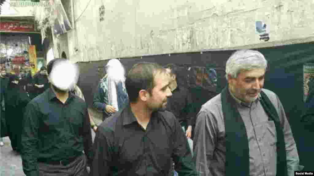 ابراهیم حاتمی کیا کارگردان سرشناس ایران در سوریه حضور دارد. گفته می شود فیلم جدیدی در دست تهیه دارد.