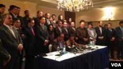 خبرنگاران حمله بر رسانه ها را جنایت جنگی خوانده اند