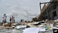 3月2日满目疮痍的阿博博区