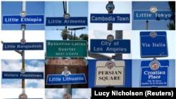 ეთნიკური უბნები ლოს-ანჯელესში