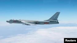 中國空軍的轟6轟炸機