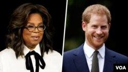 شاهزاده هری و اپرا وینفری برای ساخت یک مجموعه تلویزیونی همکاری می کنند