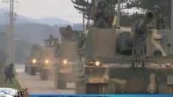 朝鲜指责韩国举行军事演习