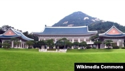 位於首爾鐘路區青瓦台路一號的南韓總統府。