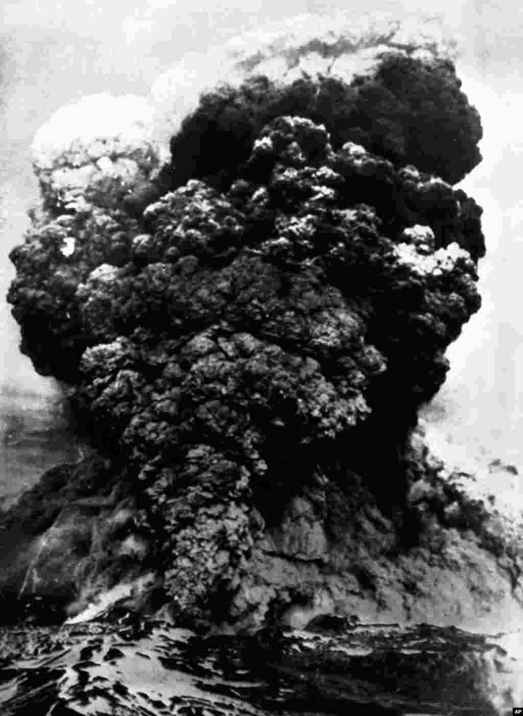 امروز در تاریخ: سال ۱۹۶۰ -فوران آتشفشان در شهرستانبالدیبیا در کشور شیلی. حدود ۳۰۰ نفر جان خود را از دست دادند.