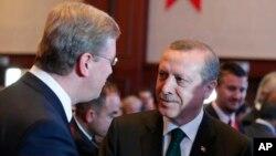 土耳其總理埃爾多安6月7日為加入歐盟作努力。