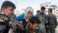 Raqqa ရွိ IS အစြန္းေရာက္ေတြကုိ မဟာမိတ္တပ္ေတြေမာင္းထုတ္