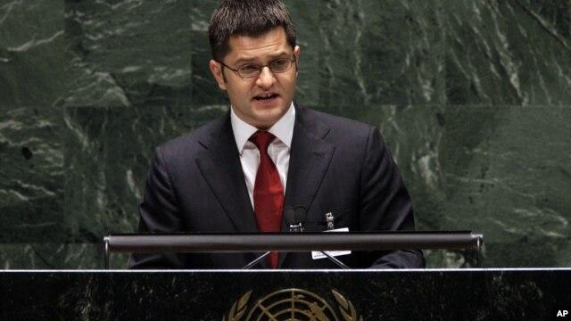 Predsedavajući Generalne skupštine Vuk Jeremić