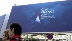 تطاهرات اعتراضی در مقابل محل کنفرانس جی ۲۰ نسبت به سياستهای مالی