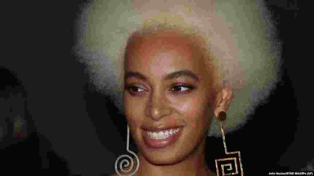 Solange Knowles no New York Fashion Week 2018 (Semana da Moda de Nova Iorque)
