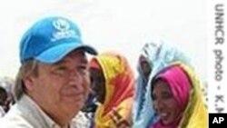 Umutegetsi mukuru w'ishirahamwe O-N-U ajejwe impunzi, Antonio Guterres