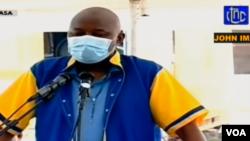 Vital Kamerhe na bosambisami na ye na boloko ya Makala CPRK na Kinshasa, 11 mai 2020. (Capture d'écran)