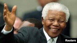 前南非總統曼德拉。 (資料圖片)
