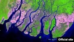 Irrawaddy Delta, Myanmar 2017 Feb 6 -Landsat 8 (Photo credit USGS)