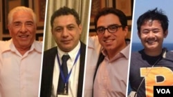 چهار آمریکایی زندانی در ایران