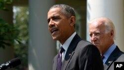 Выступление президента Обамы в Розовом саду Белого дома 1 июля 2015