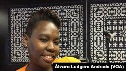 Kayla Graça, angolana em Massachussets, Estados Unidos da América