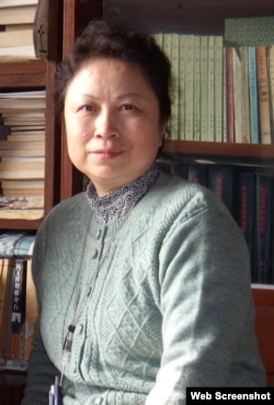 北京历史学者陈小雅(网络截屏)