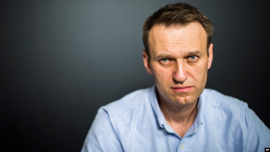 Le principal opposant au Kremlin, Alexeï Navalny à Moscou, Russie, 7 juillet 2017.