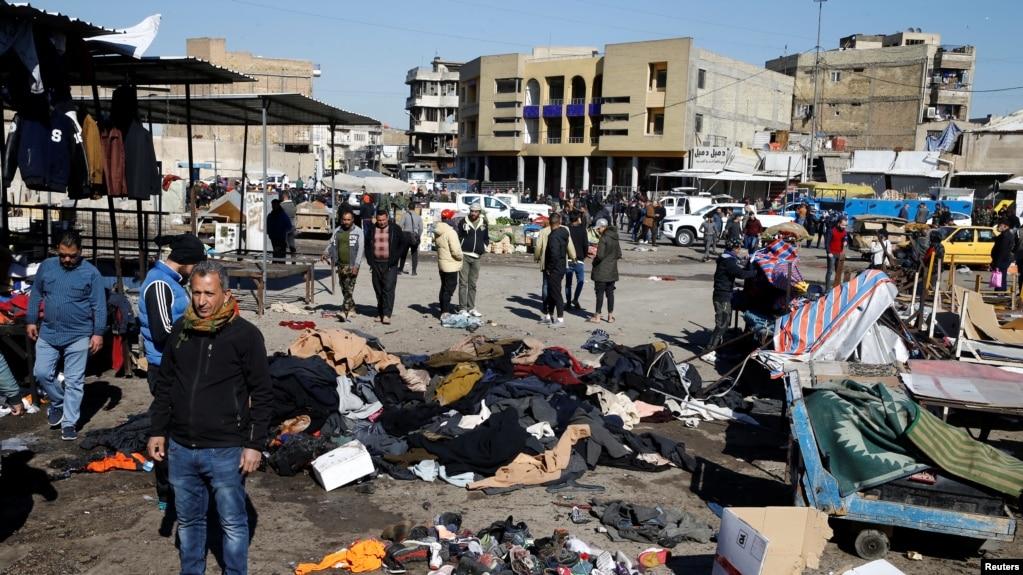 İraqın paytaxtında intiharçı hücumlar baş verib - Ölənlər və xeyli sayda yaralılar var