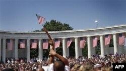 День Пам'яті відзначають на Арлінтонсьокму національному кладовищі