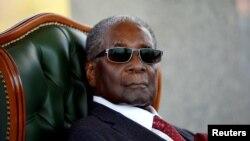 Robert Mugabe mokonzi ya kala ya Zimbabwe akufi, photo ya le 29 juillet 2018.