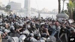 계속되는 이집트 반정부 시위