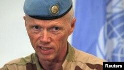 رابرت موود رئیس گروه ناظرین آتش بس در سوریه