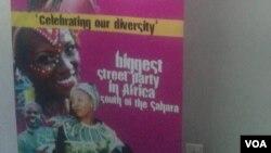 Kwenziwa umkhosi weCarnival Bira olungiselela umkhosi weHarare International Carnival.