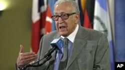 Đặc sứ hòa bình quốc tế Lakhdar Brahimi