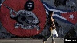 Kuba poytaxti Gavana ko'chalari, 28-may, 2015-yil.