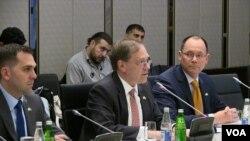 Səfir Li Litzenberger Azərbaycan-ABŞ İqtisadi Tərəfdaşlıq Komissiyasının 4-cü iclası