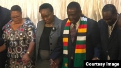 Dialogue Emmerson Mnangagwa In Harare