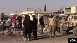 Ledakan di profinsi Khost, Afghanistan, 8 Desember 2019. (Foto: dok).