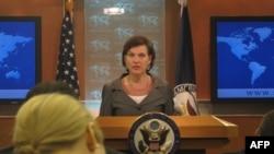 Bà Nuland, Phát ngôn viên Bộ ngoại giao nói Hoa Kỳ tin kho uranim và chất mù tạt của Libya được an toàn