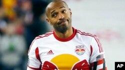 Foto de archivo de Thierry Henry, en camiseta de los Red Bulls de Nueva York.