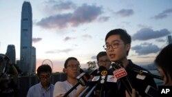 香港民族黨召集人陳浩天。(資料圖片)