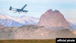 """""""Bayraktar-TB2"""" pilotsuz uçuş aparatı təlim zamanı"""
