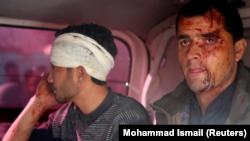 Поранені в результаті вибуху замінованого автомобіля в Кабулі