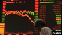 중국 증권 거래소 (자료사진)