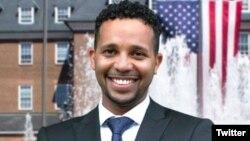 Mohamed Seifeldein, memenangkan kursi dewan kota pekan lalu di Alexandria, Virginia, pinggiran ibu kota (Foto courtesy: Twitter)