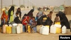 د یمن زیات شمیر وگړي د پاکو اوبو له کمبود سره مخامخ دي