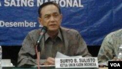Ketua Umum Kadin Indonesia, Suryo Bambang Sulisto (Foto: dok)