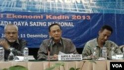 Ketua Umum Kadin Indonesia, Suryo Bambang Sulisto (VOA/Iris Gera)