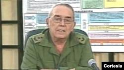 El general Leonardo Andollo Valdés es segundo Jefe del Estado Mayor de las fuerzas armadas cubanas.